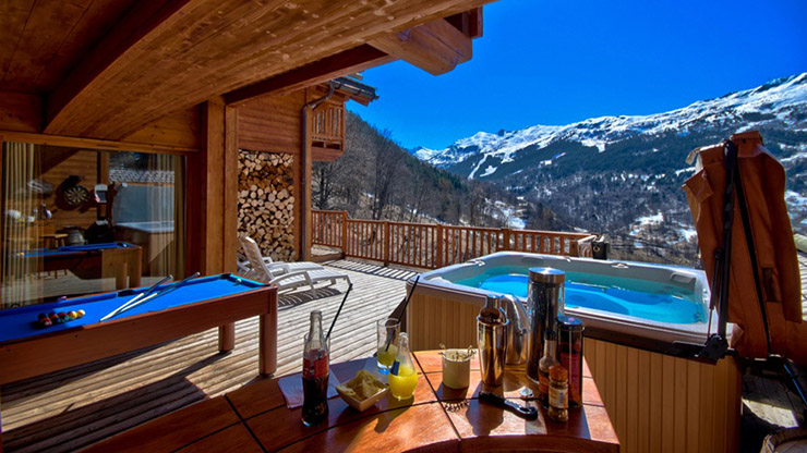 Luxury Chalet French Alps