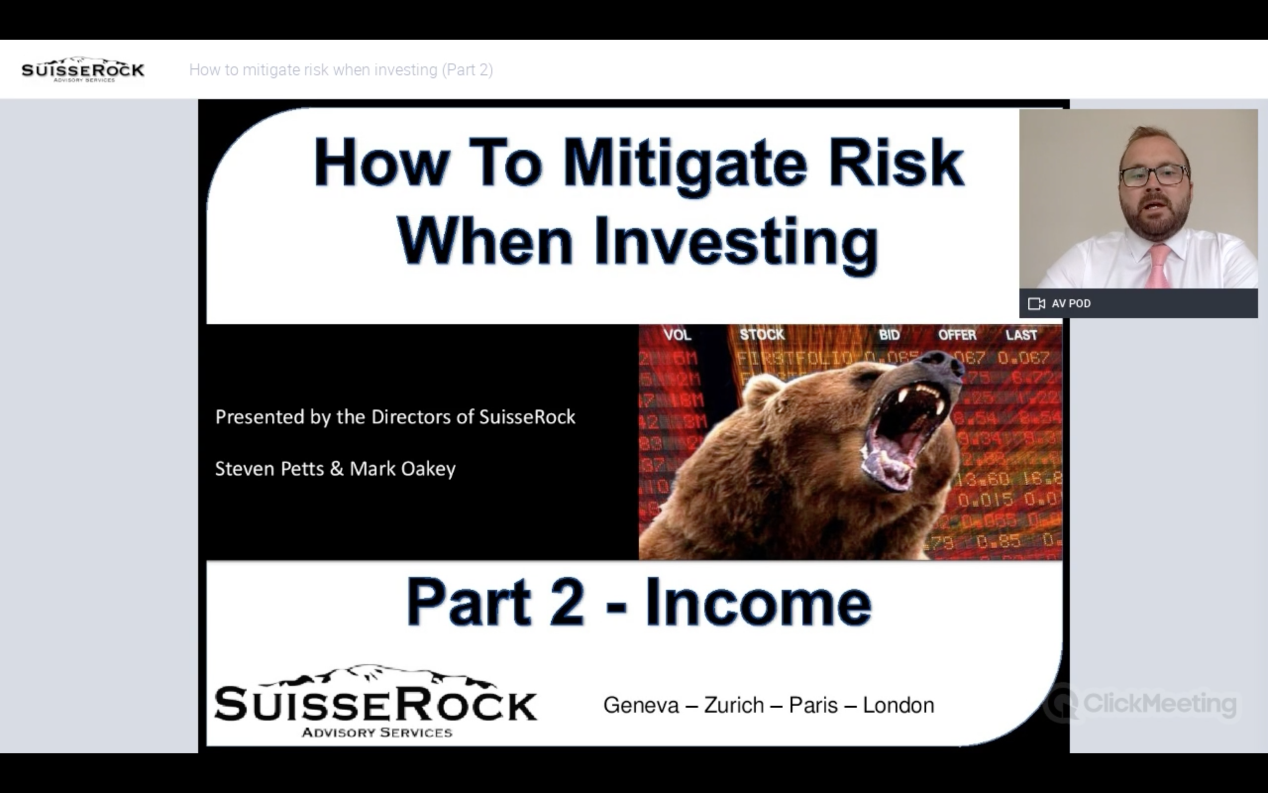 How to mitigate risk