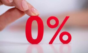 Are you happy with 0% interest on your savings?